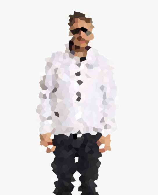 Fancy White Jacket